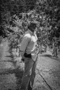 Preston Williams, part owner of Seven Springs Farm & Winery